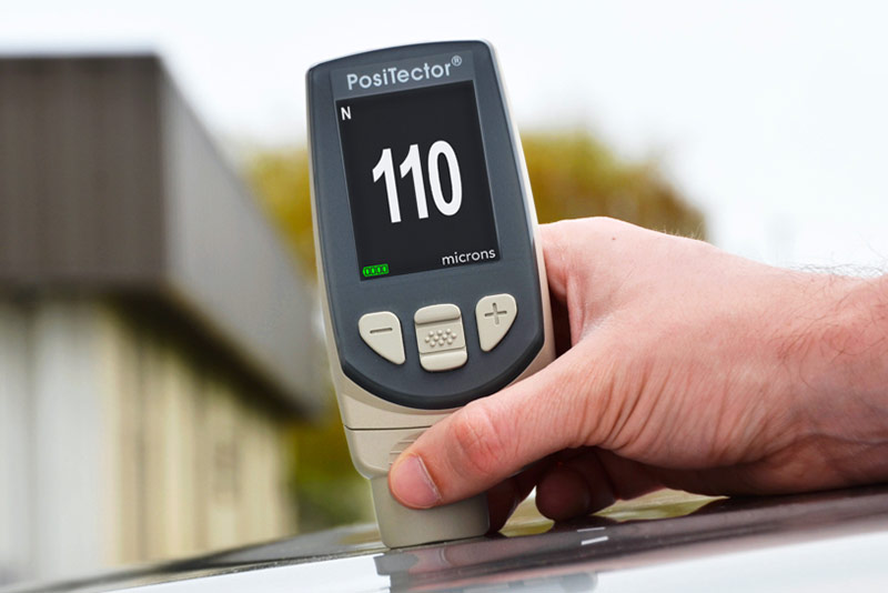 PosiTector® Roof Coatings Mil Thickness Gage