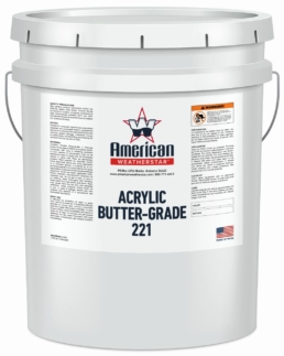 Roof Mastics - Acrylic Butter-Grade 221