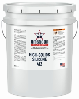 Roof Coatings - High-Solids Silicone 412