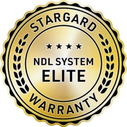 NDL System Elite Warranty Badge