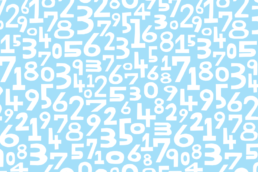 Numbers illustration
