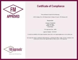 American WeatherStar FM Approvals Certificate of Compliance
