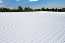 Completed Met-A-Gard Metal Roof Coating System