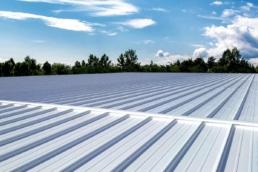 Standard white Met-A-Gard+ metal roof coating system