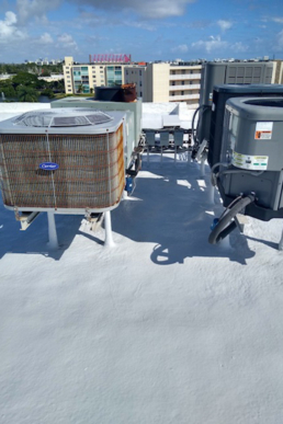 Envir-O-Sil Recoat Over an SPF Roof