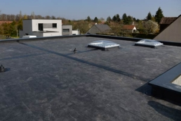 EPDM commercial roofing system