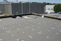 Mechanically fastened roofing insulation